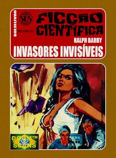 bolsilivro sos ficção científica cedibra série vermelha ralph barby invasores invisíveis