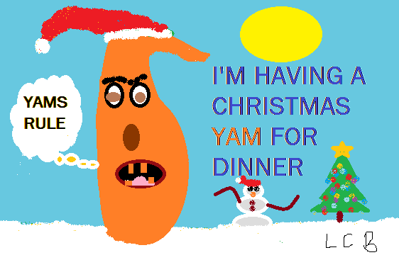 THE CHRISTMAS YAM