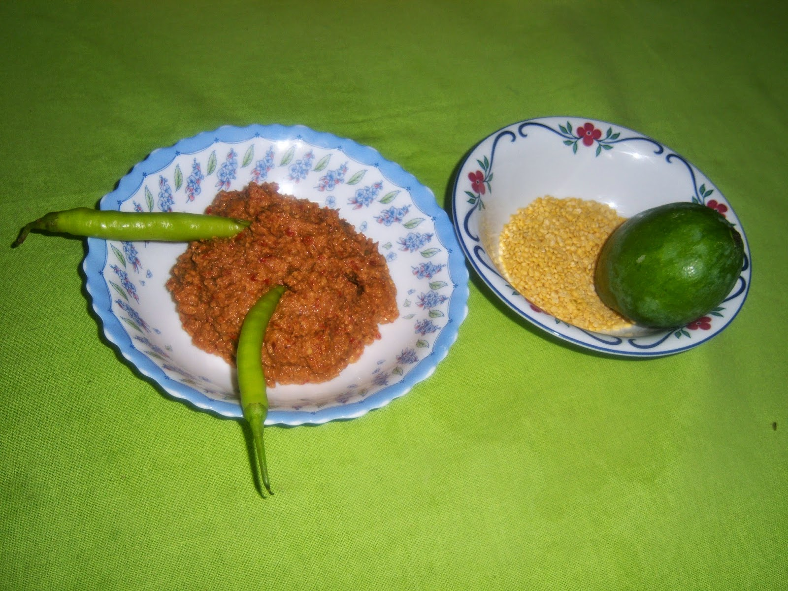 Raw Mango Moong Dal Chutney