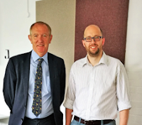 Image of Kevin Barron MP and Dr Duncan Gillespie
