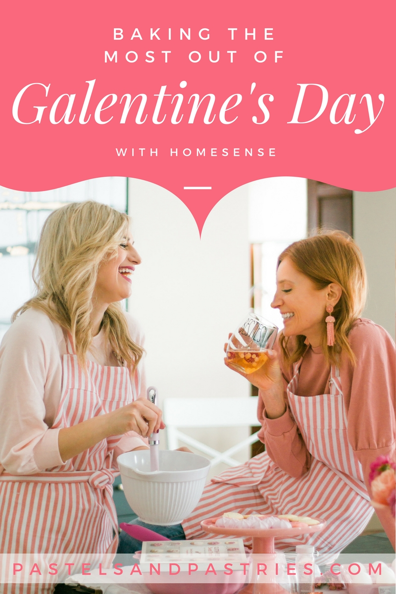 How to throw a cookie decorating party / Galentine's Day / HomeSense