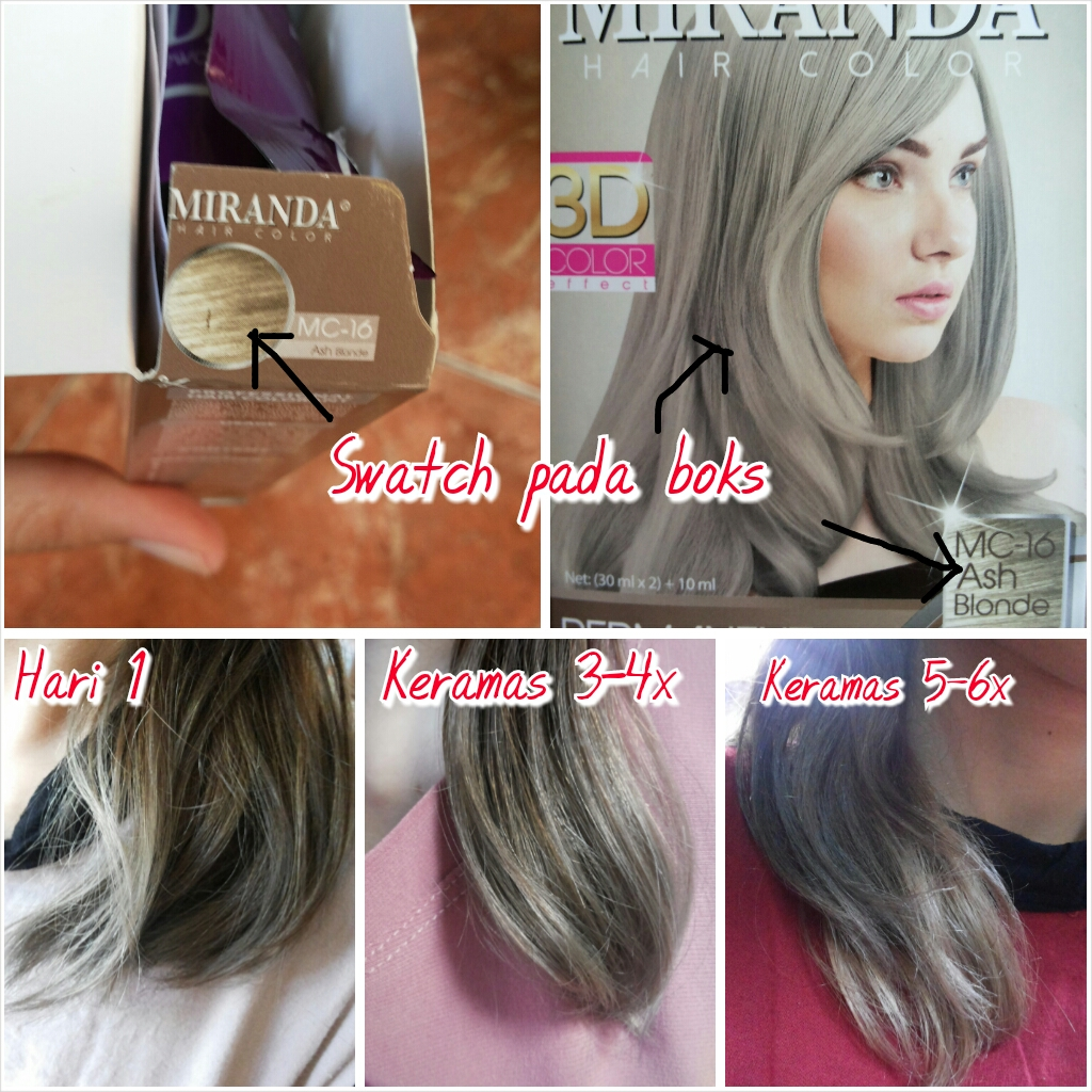 Hasil Warna Beautylabo Natural Blonde: Seeing Through My Eyes: Hair Experiment & Review: Cat