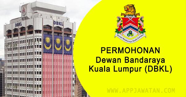 Jawatan Kosong di Dewan Bandaraya Kuala Lumpur (DBKL)