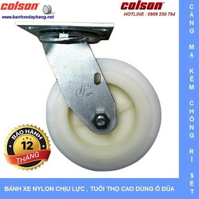 Bánh xe đẩy thủy sản SP Caster Colson Mỹ tại Vĩnh Long banhxedaycolson.com
