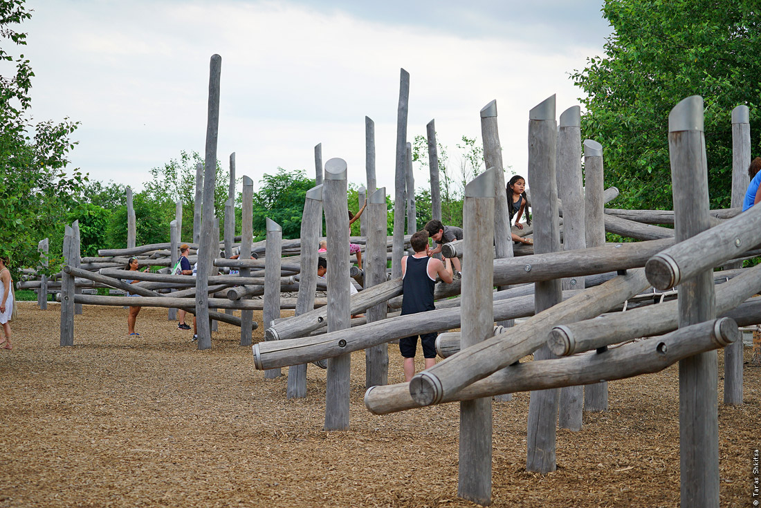 Playground. Governors Island, Brooklyn, New York