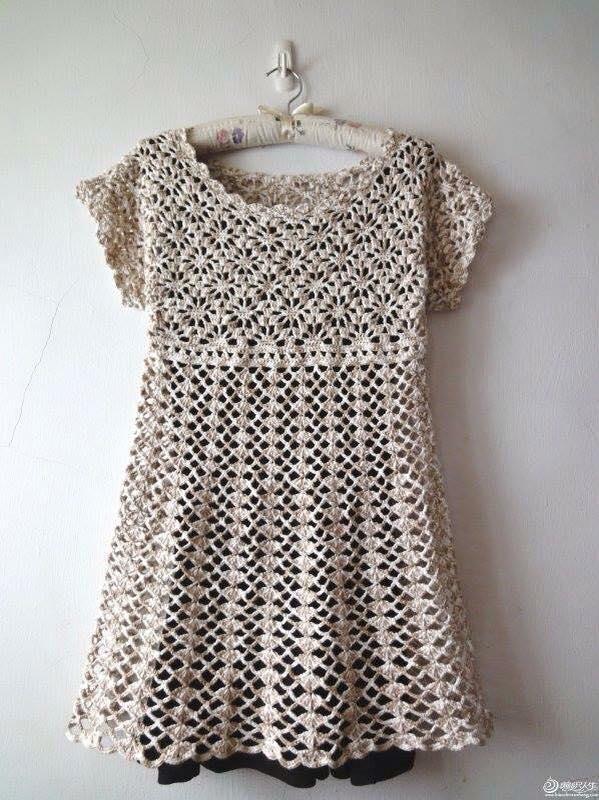 Vestidos crochet mujer paso a paso