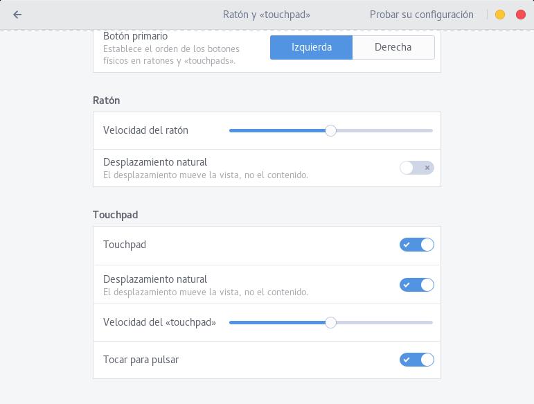 Solución Definitiva al error del Touchpad en Fedora 24