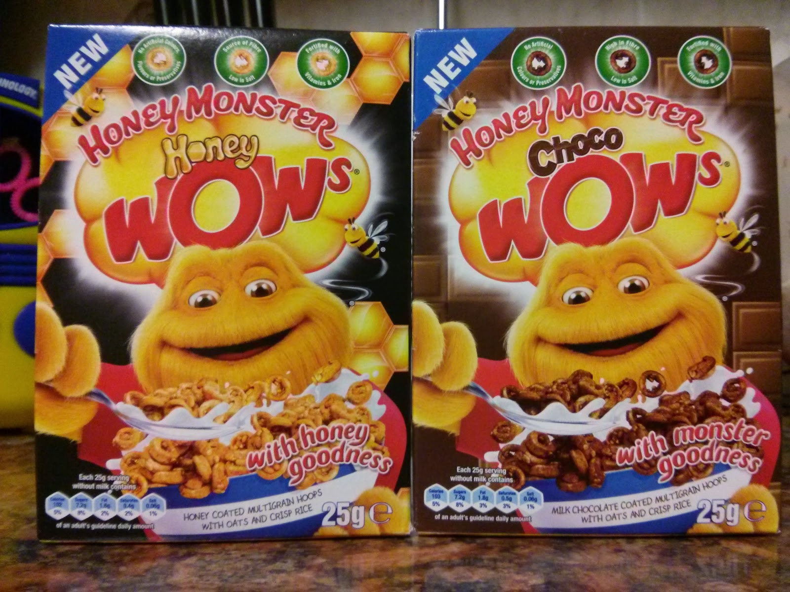 Honey Monster Wow's
