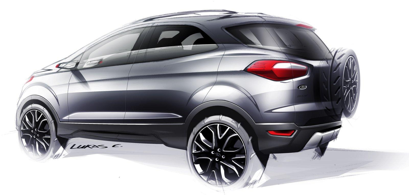 youngmanblog ford ecosport compact suv. Black Bedroom Furniture Sets. Home Design Ideas