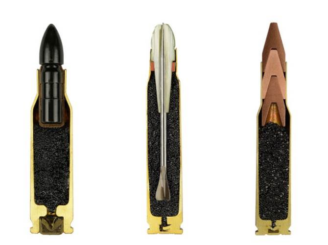 ammo cross section