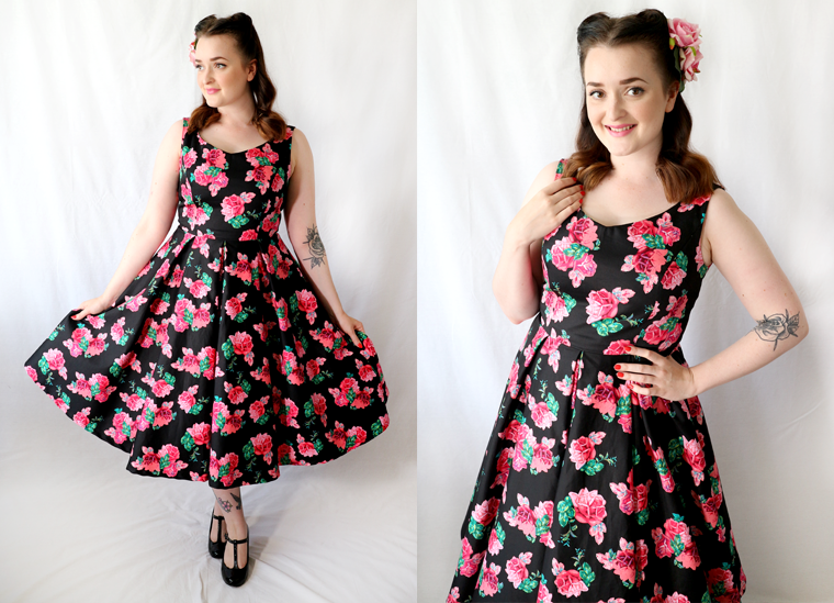 Vintage Dressmaking with The Crafty Pinup; Elsie dress