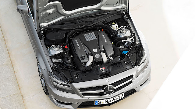 Mercedes-Benz CLS 63 AMG Shooting Brake: The performance trendsetter engine