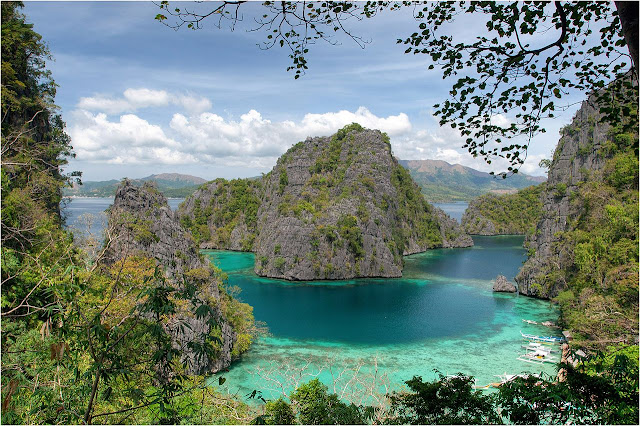 kayangan lake coron philippines palawan