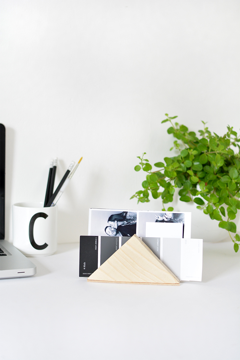easy desk tidy tutorial