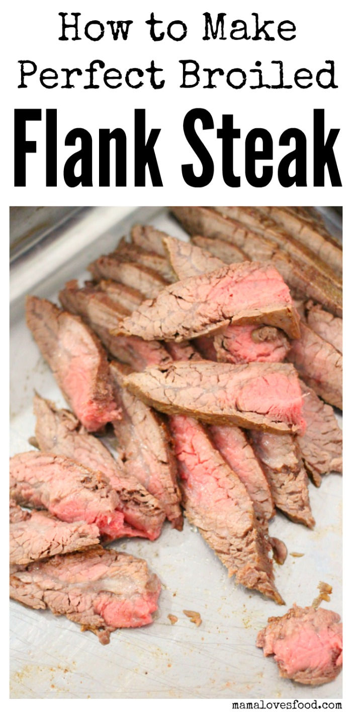 Thinly Sliced Flank Steak for Fajitas