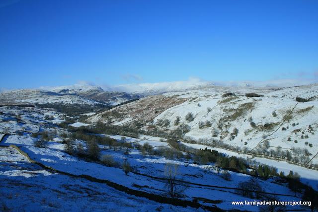 Cumbria in the snow