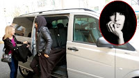 Loreen in Mercedes-Benz Vito