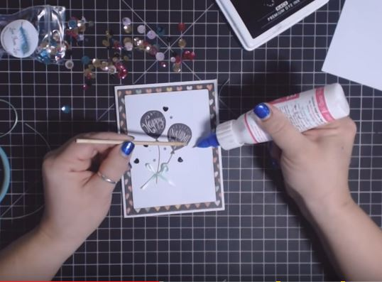 Scraperfect How To Make A Birthday Balloon Sequin Card