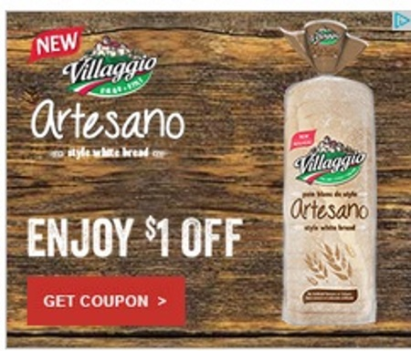 Villaggio Artesano Bread Coupon