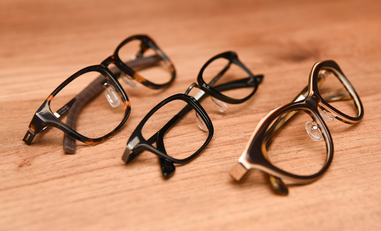 Remedy to a common eyewear fit issue: Nose pad arms for plastic ...