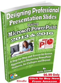 ms powerpoint 2016 kindle book
