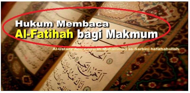 Seorang Makmum Membaca Al-Fatihah Saat Shalat Berjama'ah? Bagaimana Hukumnya?