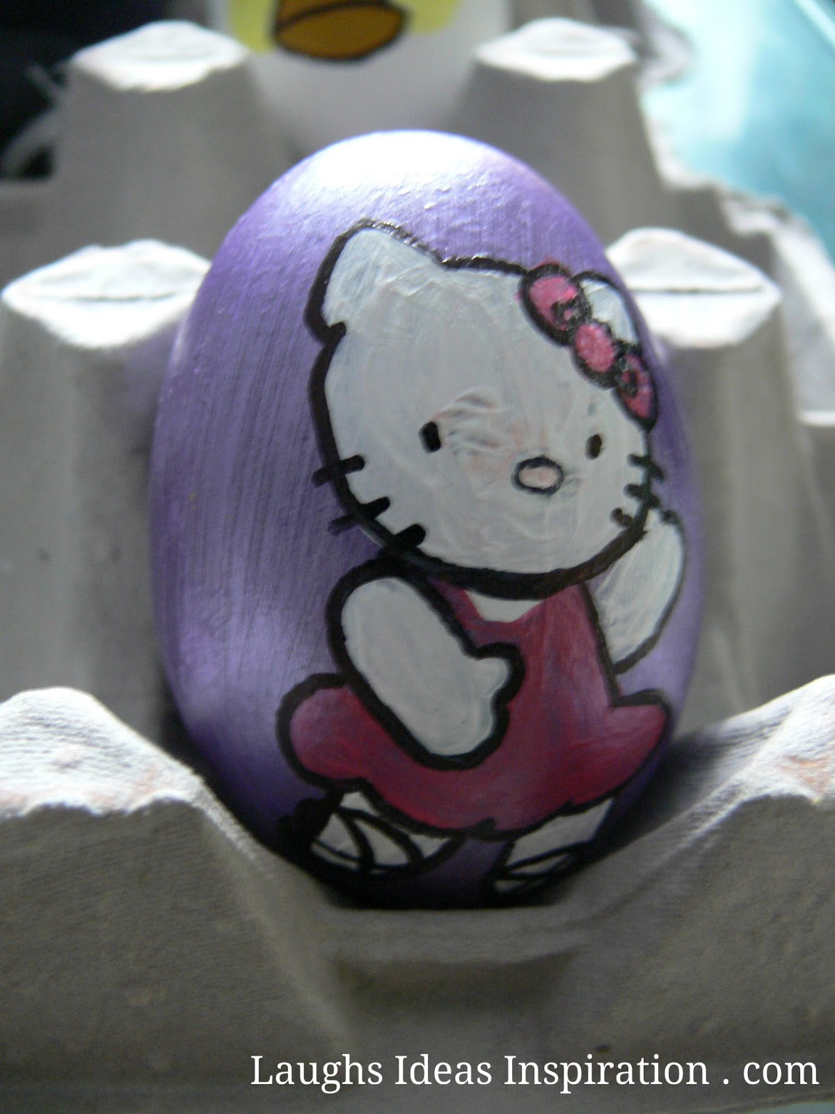 Huevos de Pascua de Hello Kitty