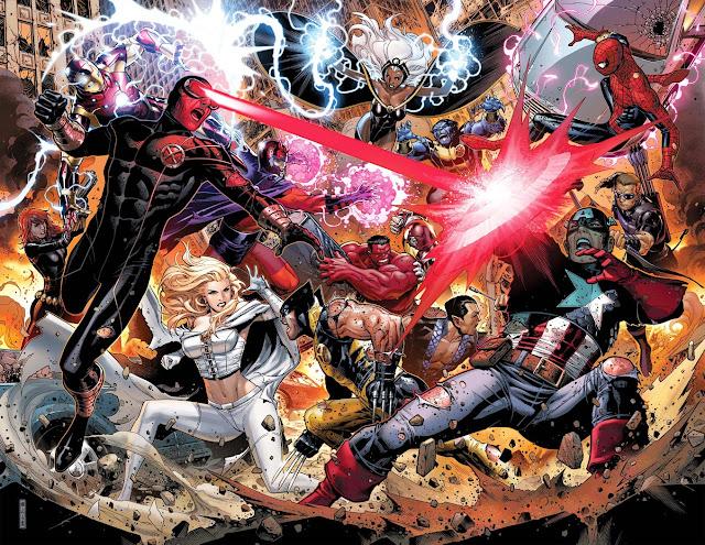 avengers x men crossover
