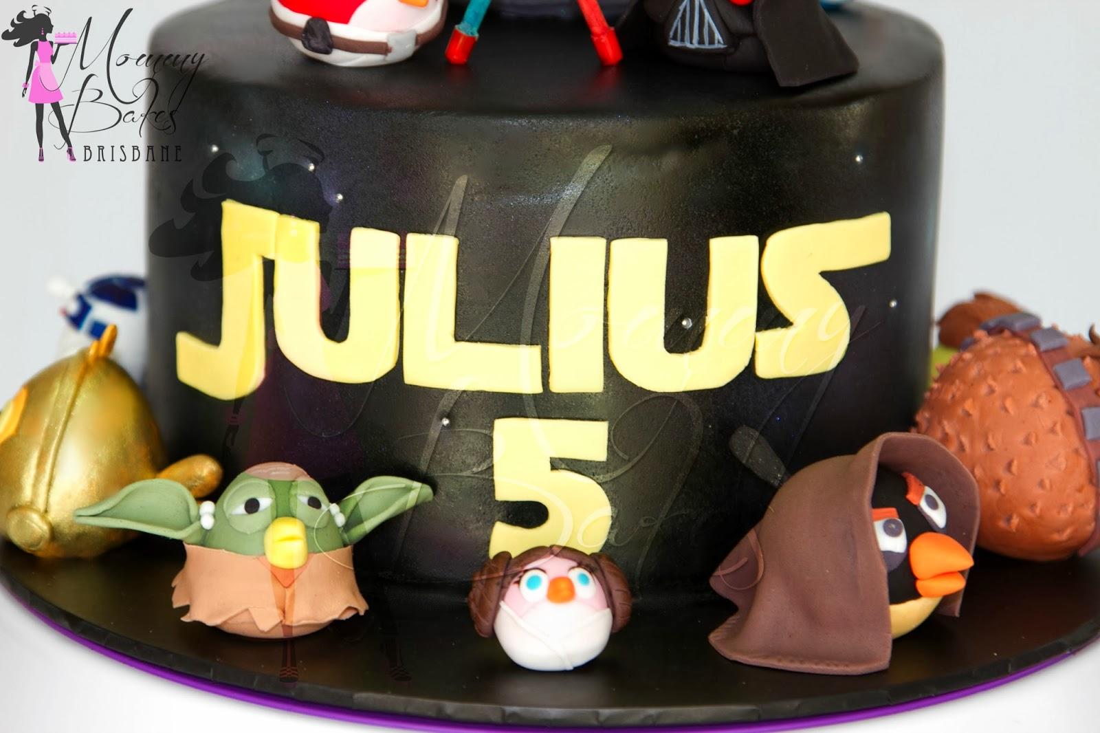 Mommybakes Brisbane Angry Birds Star Wars Cake