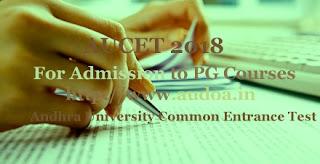 AP AUCET 2018 : Notification, Exam date, Online Application form, Registration, Exam pattern, Fee, Eligibility, How to Apply-Application form, Registration, Last date, Important dates