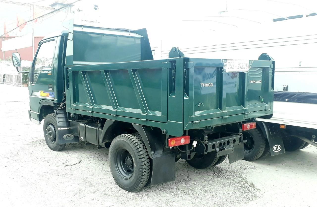 Thùng xe ben Trường Hải 2.5 tấn Thaco Fld250D tại hải phòng