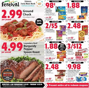 Festival Foods Weekly Sales Ad September 18 - 24, 2019