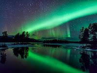 Aurora over Arjeplog