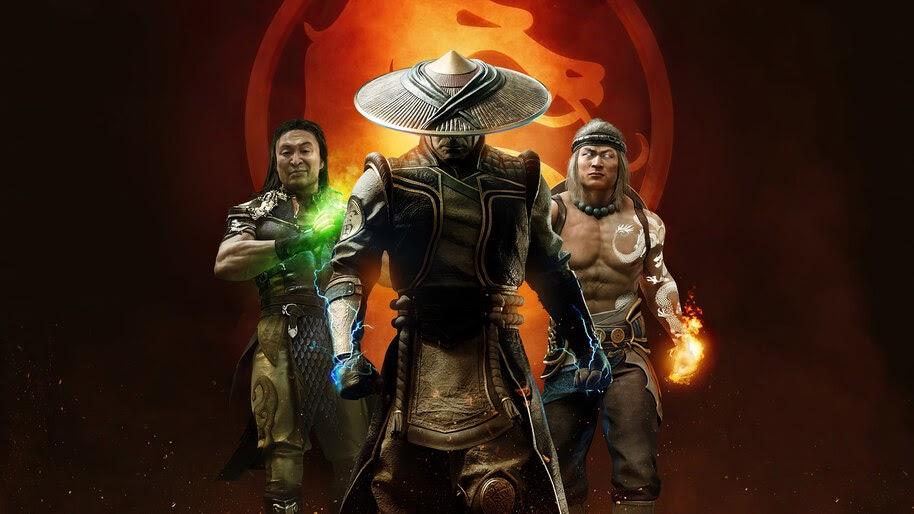 MK11, Aftermath, Raiden, Shang Tsung, Liu Kang, 4K, #3.2025