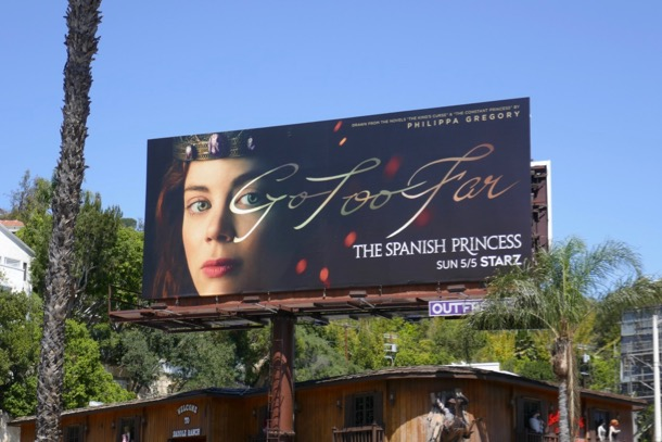 Spanish Princess billboard