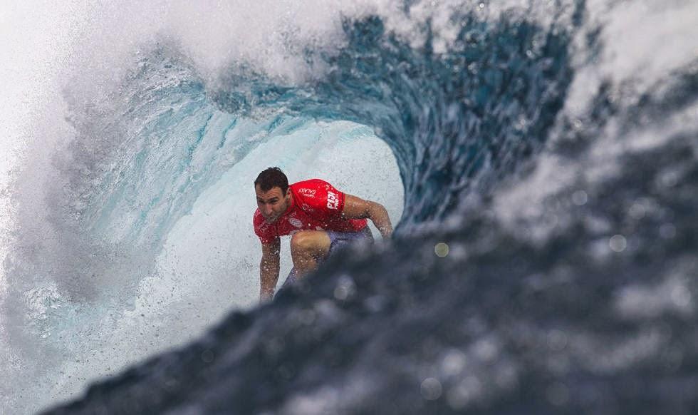 Fiji Pro 2014 Ronda 1 Foto ASP Kirstin Scholtz Joel Parkinson
