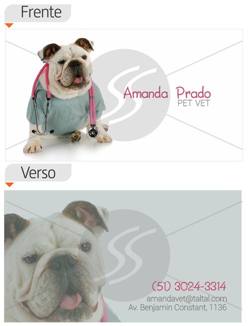 cartoes de visita veterinarios 12 - 15 lindos Cartões de Visita de Veterinários