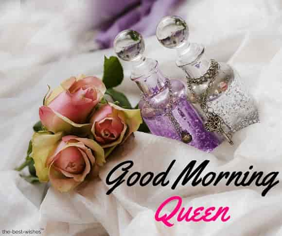 good morning queen picture