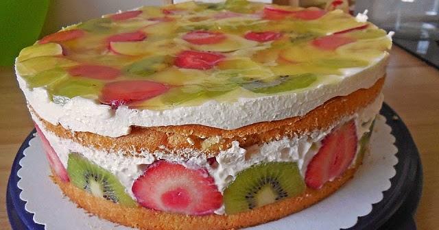 Kuchen Und Andere Rezepte Obst Quark Torte