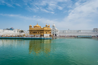 Golden Temple backpack nirvana