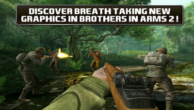 Download Game Android Brothers in Arms 2 Global Front APK+DATA