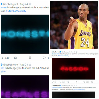 Kobe Bryant challenged Everyone, including you, here are the list so far