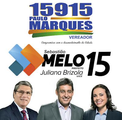 Eleicoes 2016 Sebastiao Melo, Juliana Brizola e Paulo Marques