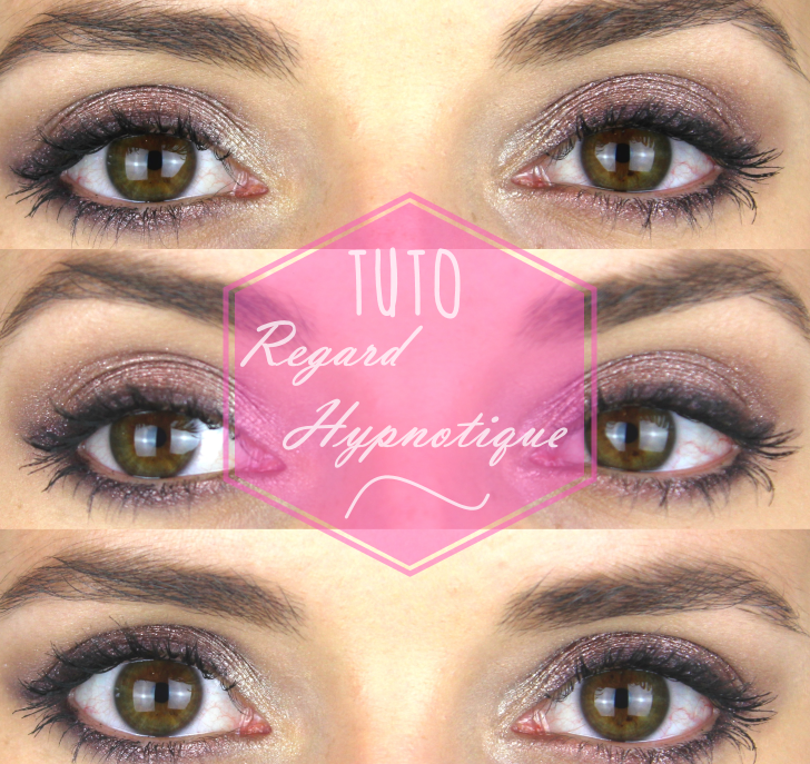 Connu Tutoriel maquillage regard hypnotique   Facile et longue tenue  KU95