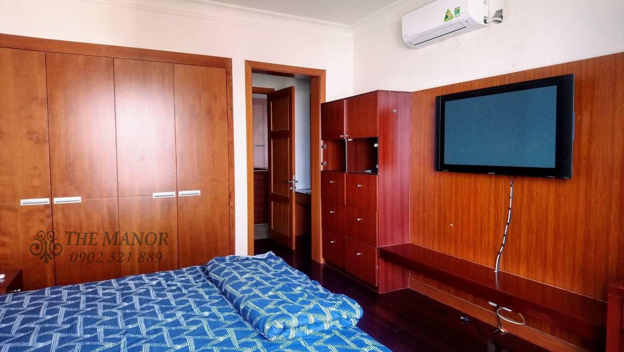 Căn hộ 168m2 cho thuê tại The Manor quận Bình Thạnh 3PN - phòng ngủ 2