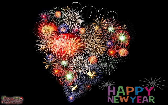 Happy New Year 2019 Fireworks HD Images 1080p