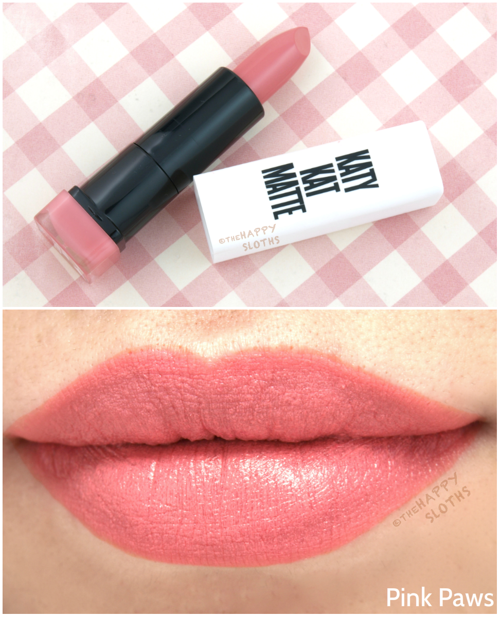 Covergirl Katy Perry Katy Kat Matte Lipsticks: Review and Swatches ...