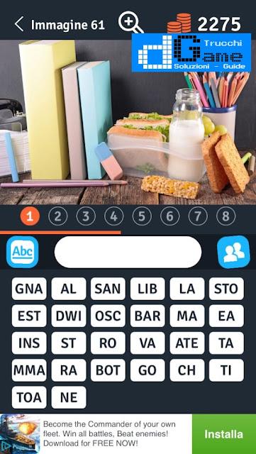 8 Parole Smontate soluzione livello 61-70