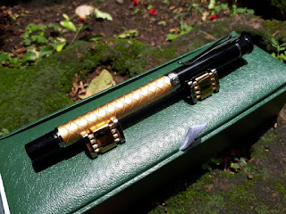 Pulpen Mewah Jinhao Y3 New Gold And Silver Clip Roller Ball Pen With Cufflinks
