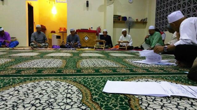 Sesi Pembentangan Kewangan Masjid Saujana Putra pada 3hb Mac 2017 | Laporan Kewangan Dana Masjid Bandar Saujana Putra Berakhir Februari Tahun 2017